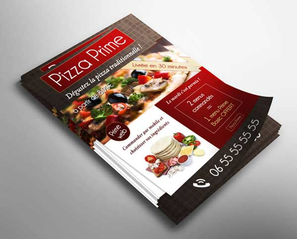 Flyer Pizza Prime