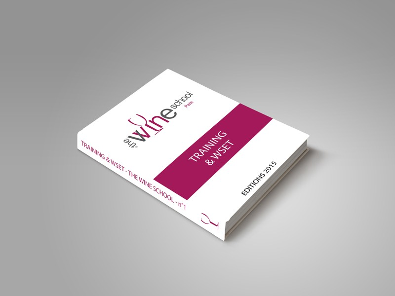 livre thewineschool blanc