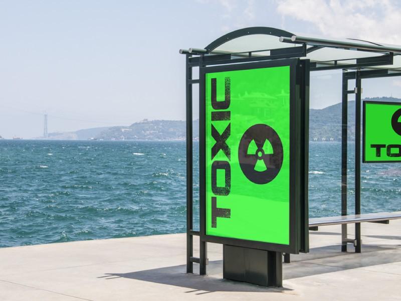 abris de bus toxic